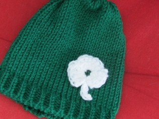 Shamrock Infant Hats and Headbands (5)