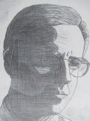 Mike Tuggle Pencil Sketch (6)
