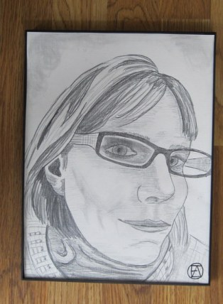 Self Pencil Portrait (2)