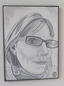 Self Pencil Portrait (7)