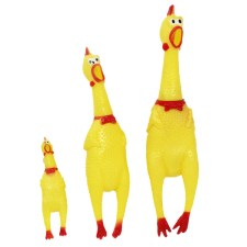 Squeaking Chicken Funny Dog's