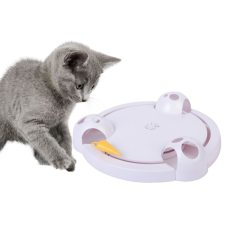 Automatic Rotating Electronic Toy for Cat