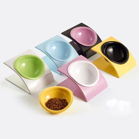 Designer Adjustable Elevated Pet Food Bowls