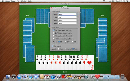 Hearts card game download For Mac