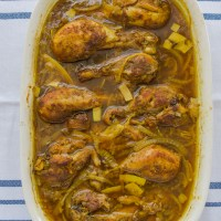 Baked Moroccan-Spiced Chicken Drumsticks