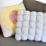 Make Your Own Puff Quilted Pillow Cover A Beautiful Mess