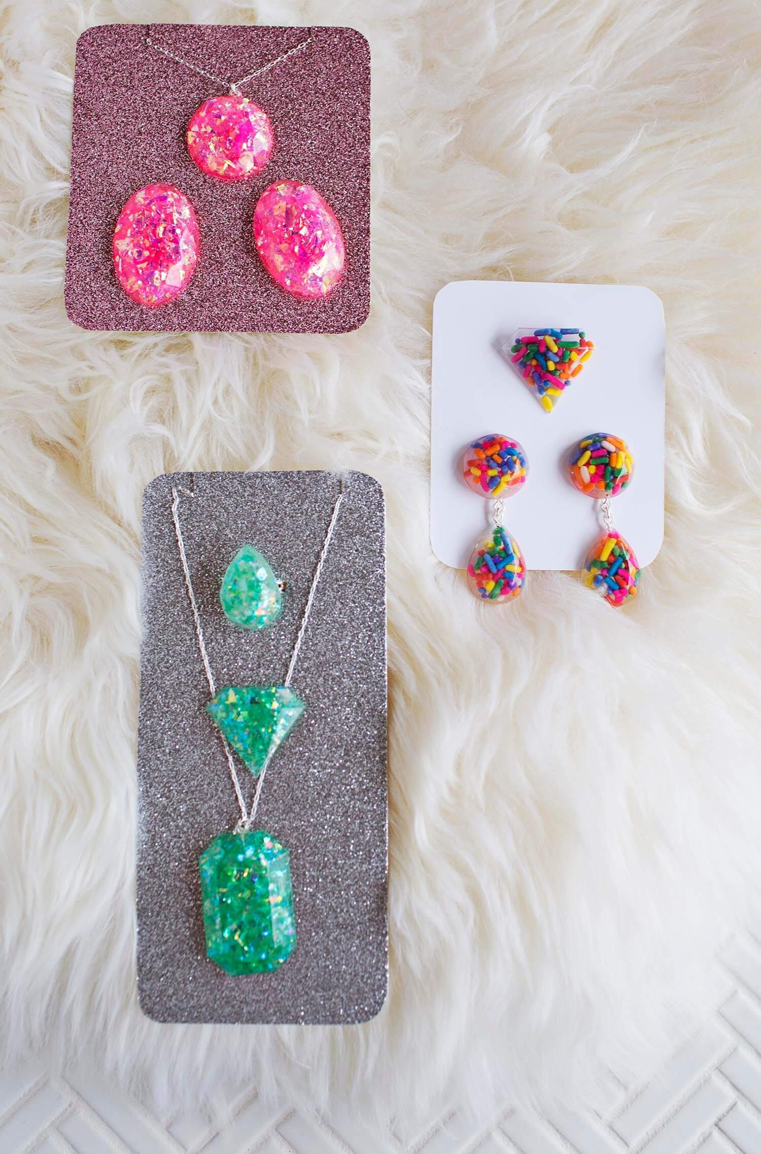 DIY Epoxy Resin Jewelry A Beautiful Mess