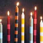 Try This Striped Candlesticks A Beautiful Mess