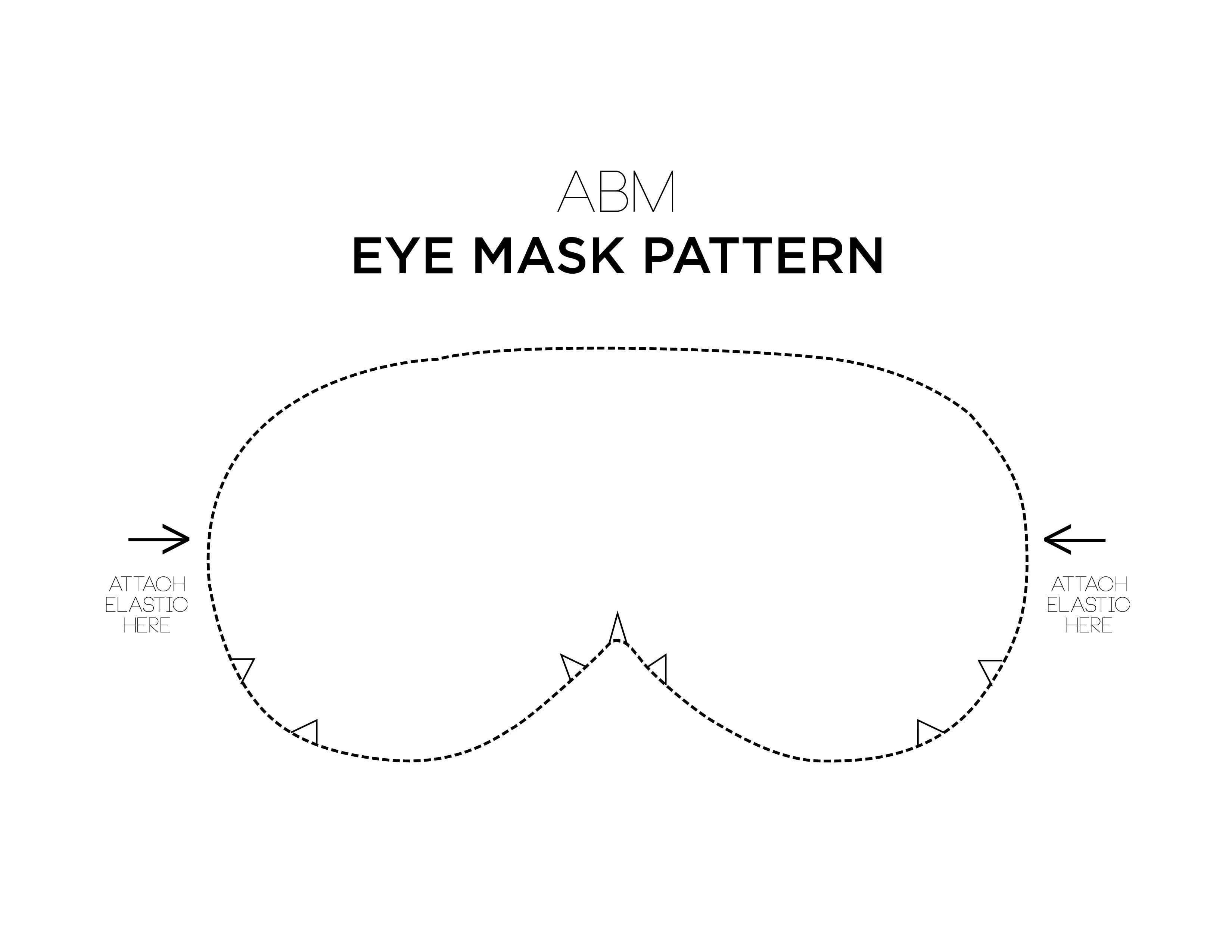 Make Your Own Eye Mask
