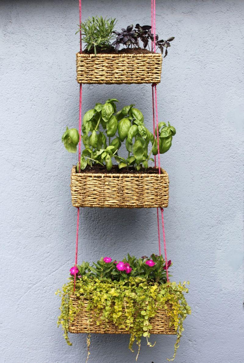 Outdoor Hanging Baskets