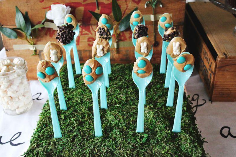 Emma's Peanut-Butter-Themed Wedding Shower