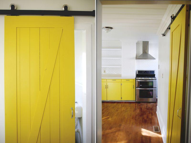 Yellow Kitchen Doors