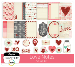 Love Notes Value Kit by Becky Higgins