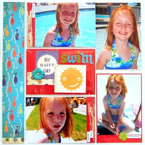 Pocket Page Scrapbook Designs