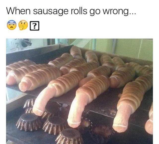 Sausage rolls anyone?