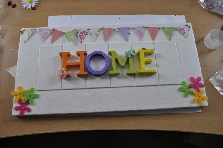 Home sign 3
