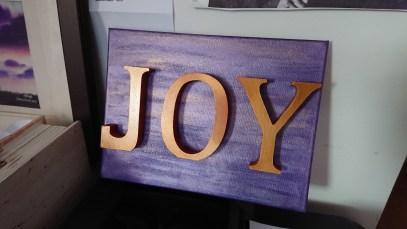 Word art: JOY 4
