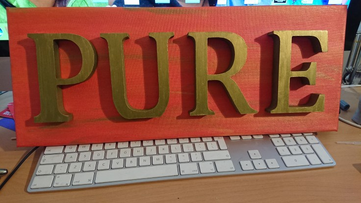 Word art: Pure 2
