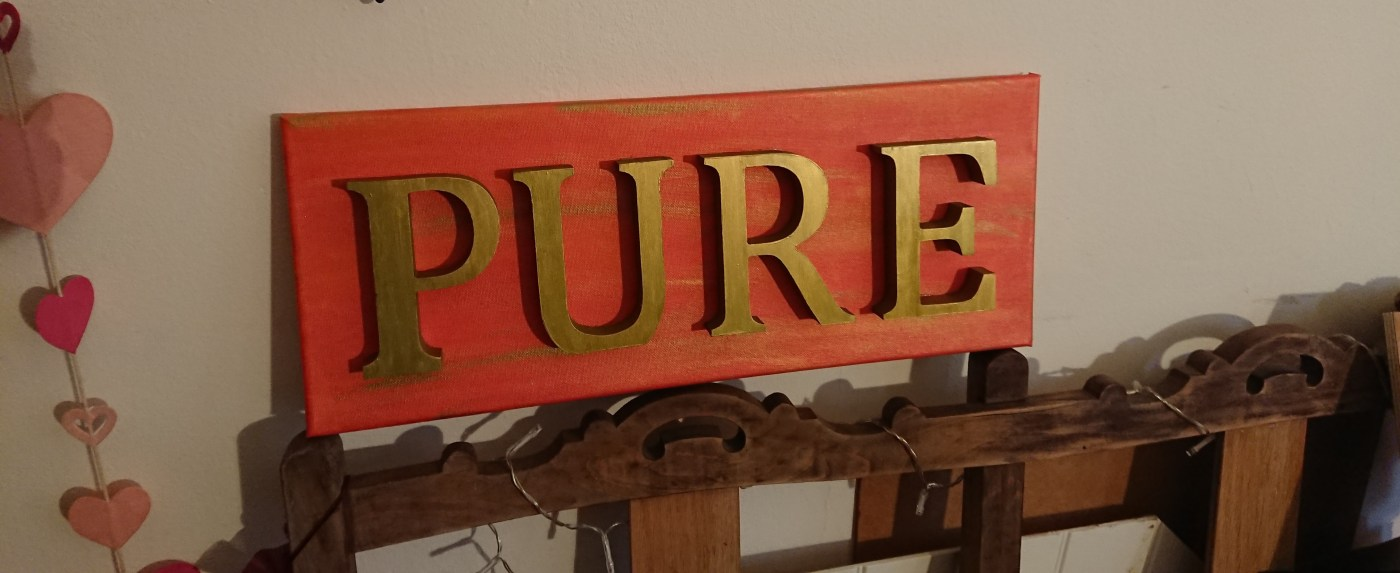 Word art: Pure