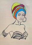 Artwork: African Lady 2