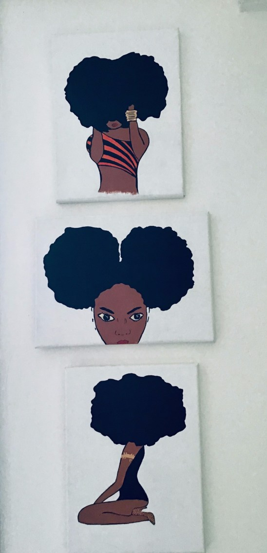 Afro girl -The collection
