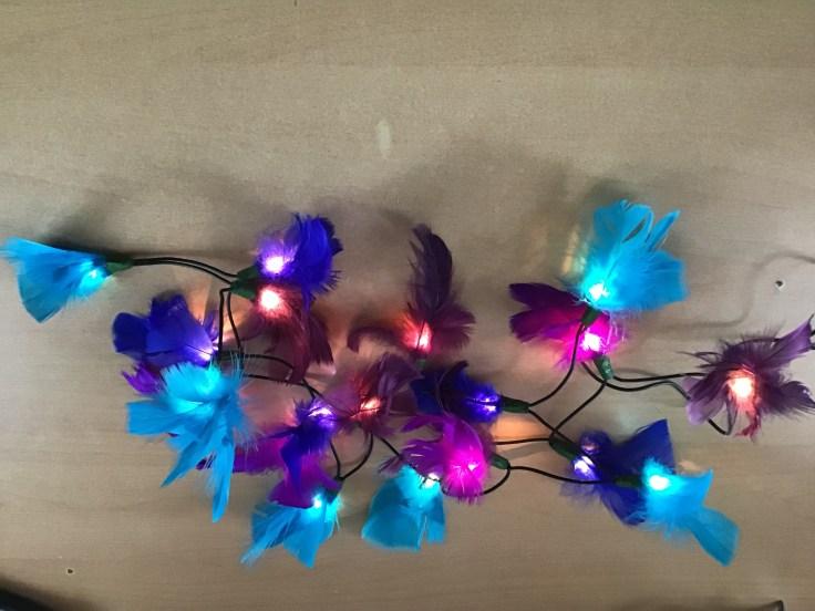 Decorated fairy lights- boys