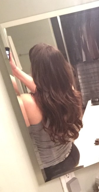 After Hairdreams extensions