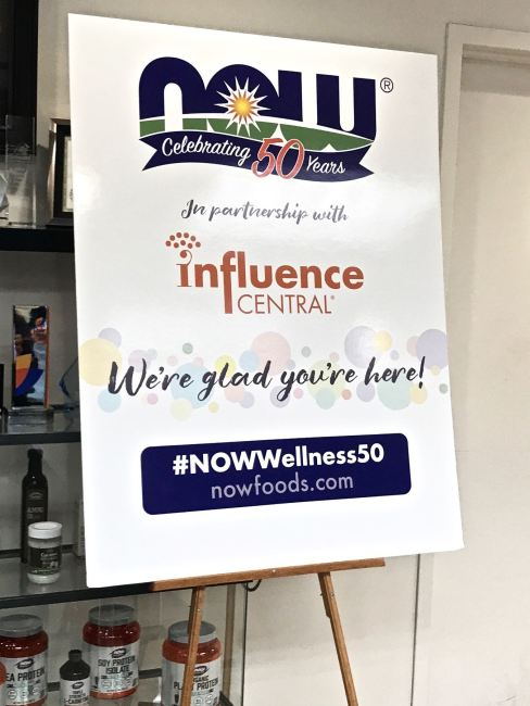 NOW Foods Influencer Immersion 2018