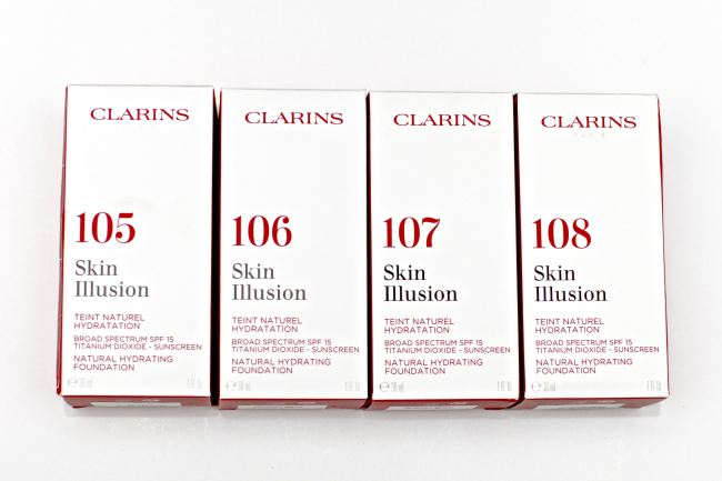 Clarins Foundation Skin Illusion