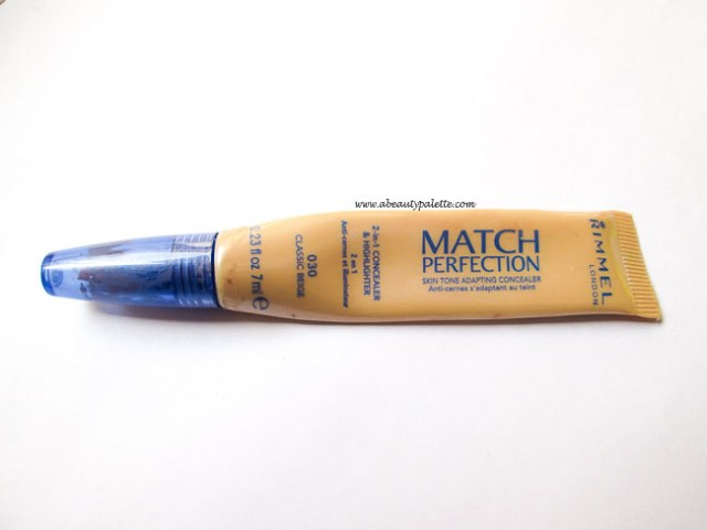Rimmel Match perfection 2 in 1 concealer and highlighter