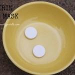 WEEKEND DIY: Aspirin Face Mask For Acne-Prone Skin