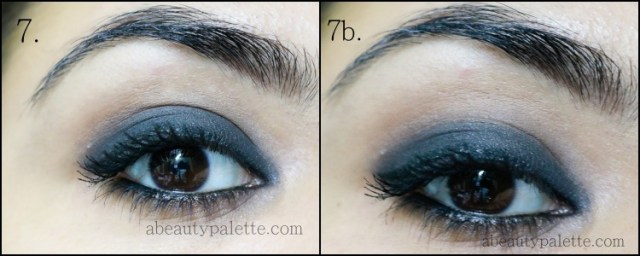 Black Smoky Eye + Nude Lips Tutorial