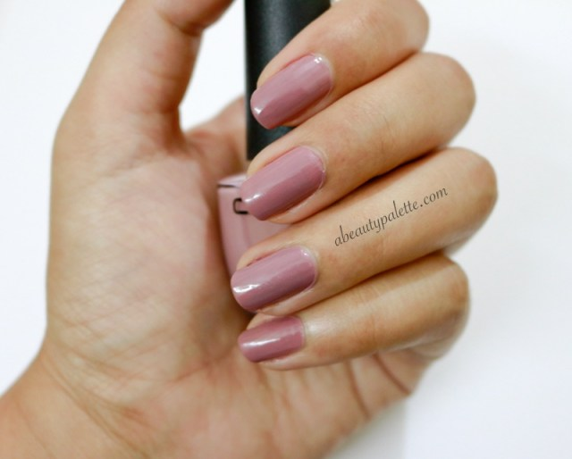 Colorbar Nail Lacquer Pro- Mauve Like Me 016: Review, Price, Swatches