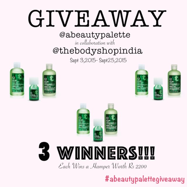 The Body Shop Giveaway