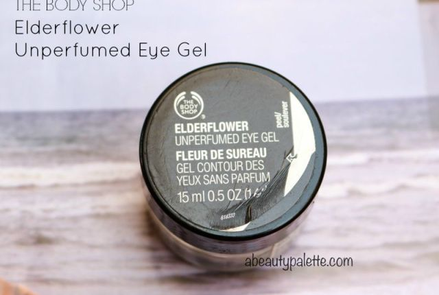 The Body Shop Elderflower Unperfumed Eye Gel