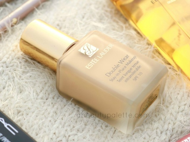 January Shopping Haul Estee Lauder Double Wear Foundation India