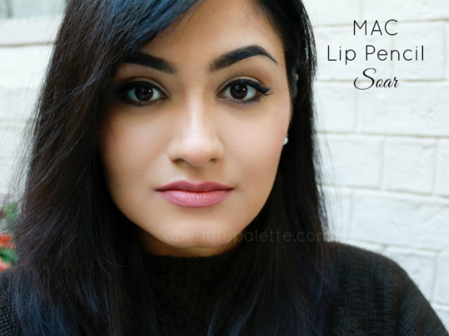MAC Lip Pencil Soar Swatch