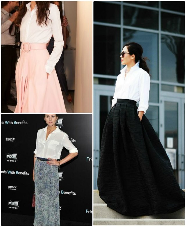How To Wear Maxi Skirt For Spring