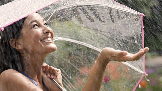 How to play with bright colours this monsoon