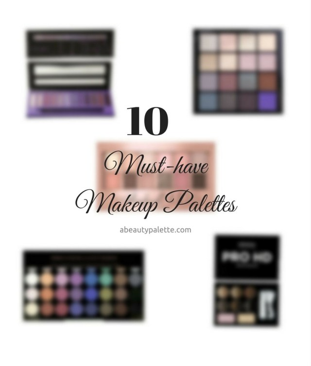 10 best makeup palettes available in India
