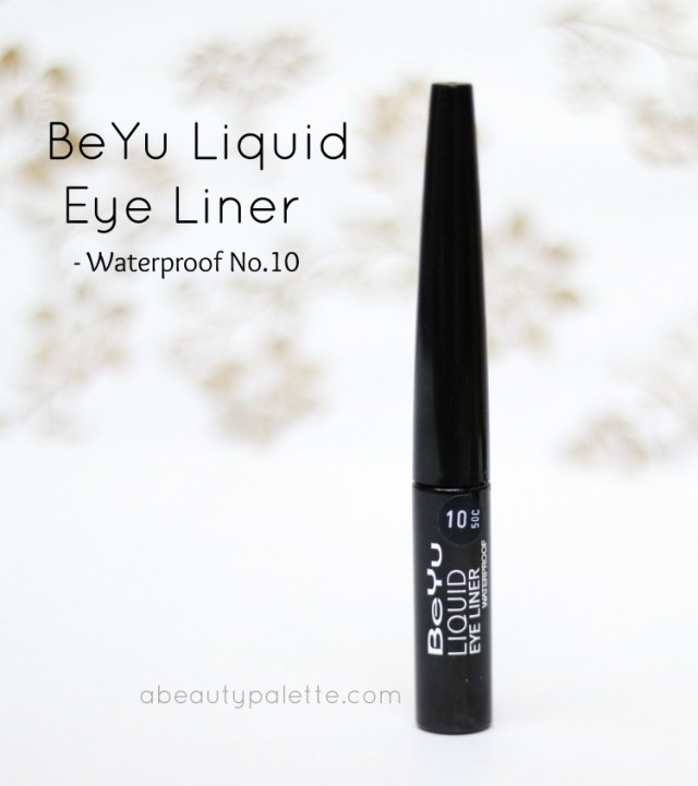 Beyu Eyeliner in No.10 Deep Black : Waterproof