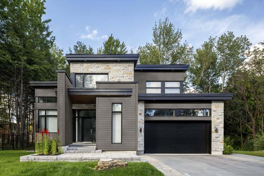 3 Contemporary Homes with Big Style - James Hardie ... on Modern House Siding  id=95066