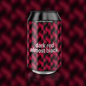 Castelló Beer Factory Dark Red Almost Black