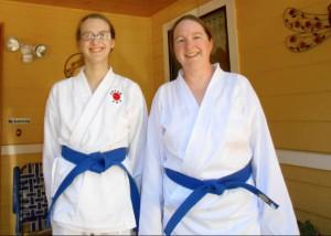 Karate Kid and MomR