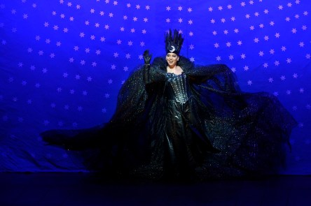 Ambur Braid as the Queen of the Night in the Canadian Opera Company's production of The Magic Flute, 2017, photo: Gary Beechey