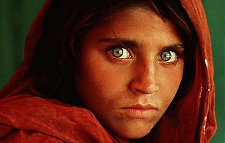 Los ojos de la niña afgana Sharbat Gula (1/5)