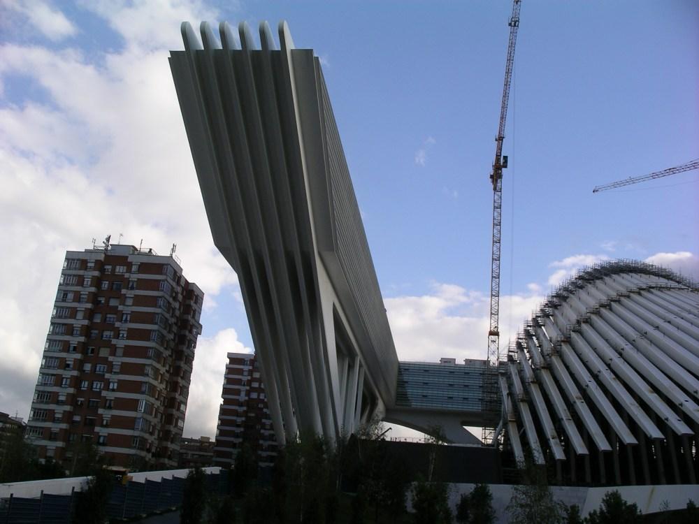Santiago Calatrava en Oviedo (4/6)