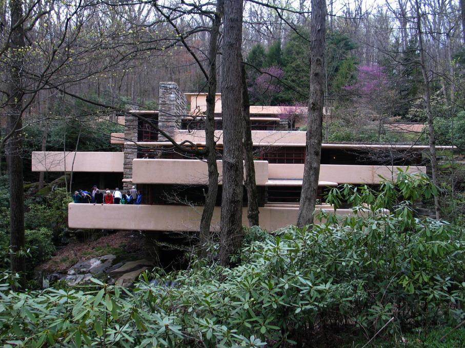 Fallingwater (Casa de la Cascada) de Frank Lloyd WRIGHT (6/6)