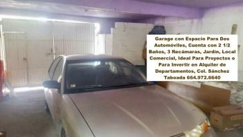 Garaje hasta para 2 vehículos y bodega