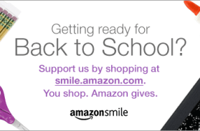 Shop Amazon Smile for Back to School